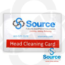 Cr80 Head Cleaning Cards (50 Each) With Source Logo