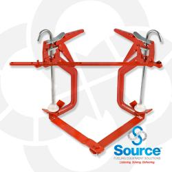 Angled Clamp For Straight And Elbow Joints (1 Inch  To 4 Inch Pipe)