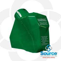 Green 11B Series Newgard 2-Piece Style Nozzle Scuff Guard, Without Barrel Hand Insulator Or Fillgard Splash Guard