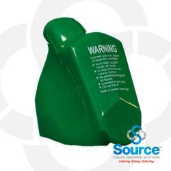 Green 11A Series Newgard 2-Piece Style Nozzle Scuff Guard, Without Barrel Hand Insulator Or Fillgard Splash Guard