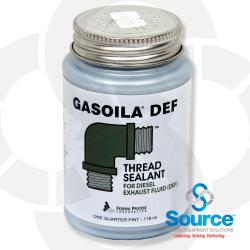 1/4 Pint Brush Gasoila DEF Thread Sealant