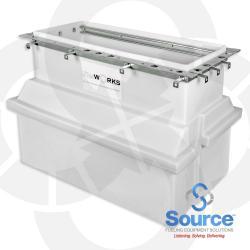 Polyethylene Dispenser Sump 16 Inch X 30 Inch