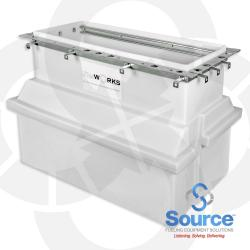 Polyethylene Dispenser Sump 21-1/2 X 48 Inch For 48 Inch Advantage
