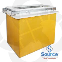 18 Inch x 36 Inch Gilbarco Encore Singlewall Conduitless FRP UDC Under Dispenser Containment Sump
