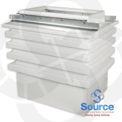 Polyethylene Wide Access Dispenser Sump 18 Inch X 36 Inch