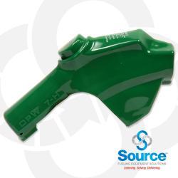 Green 7H Series Newgard 1-Piece Style Full Hand Insulator Nozzle Scuff Guard, Without Splash Guard