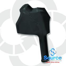 Black 11B Series Newgard 1-Piece Style Full Hand Insulator Nozzle Scuff Guard, Without Splash Guard