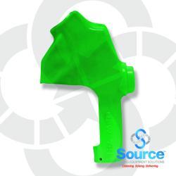 Green 7HB Series Newgard 1-Piece Style Full Hand Insulator Nozzle Scuff Guard, Without Splash Guard