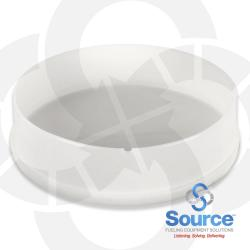 12 Inch Plastic Monitoring Well End Cap