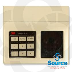 D-20 Intercom Without Mic Extension Must Advance Core