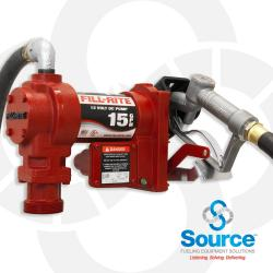 12V Dc Pump Suction Pipe 3/4 Inch X 12 Foot Hose 1 Inch Inlet And 3/4 Inch Manual Nozzle
