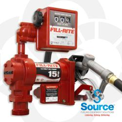 12V Dc Pump Suction Pipe 3/4 Inch X 12 Foot Hose 1 Inch Inlet And 3/4 Inch Manual Nozzle 807C Meter