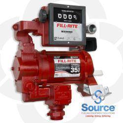 115/230 Volt AC Super High Flow Pump And Meter Only