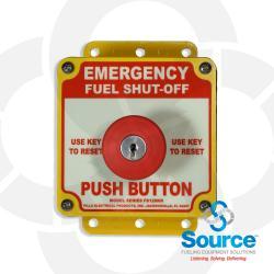 Emergency Shut Off Box Push Button