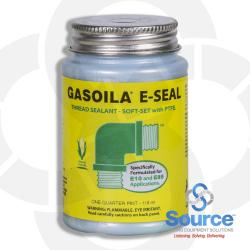1/4 Pint Brush-Top Gasoila E-Seal Soft-Set Thread Sealant With PTFE