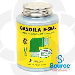 1/2 Pint Brush-Top Gasoila E-Seal Soft-Set Thread Sealant With PTFE