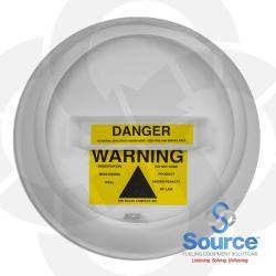 12 Inch Plastic Locking Monitoring Well Warning Cap