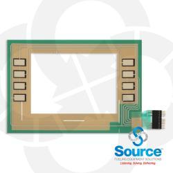 Encore Monochrome Softkeys Keypad Membrane