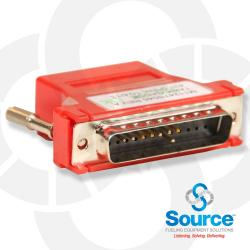 Red Genmen Adapter For Passport To Veederroot Dim Module