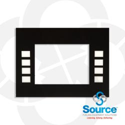 Universal Standard Graphics Monochrome Softkey Display Panel Overlay (Eu01001G001)