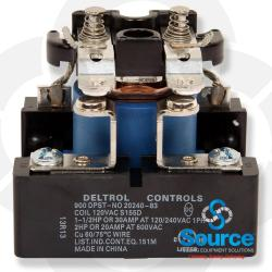 Relay 120 Volt 50/60 Hz 25A