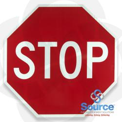 Stop Sign Alum 36 Inch X 36 Inch With Eg