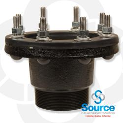 4 Inch Tank Fitting Adapter Bolt Style