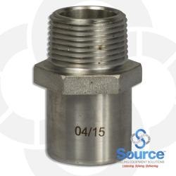 3/4 Inch Coupling Stainless Steel