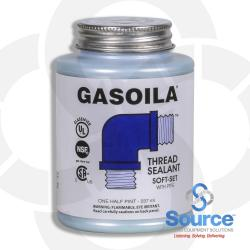 1/2 Pint Brush Gasoila Soft Set With Ptfe