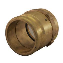 4 Inch Fill Swivel Adapter - Brass