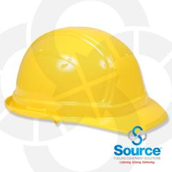 Vulcan Basic Hard Hat With Ratchet Suspension Yellow