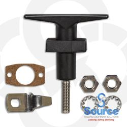 Replacement Locking T-Handle Mechanism For Sump Lids